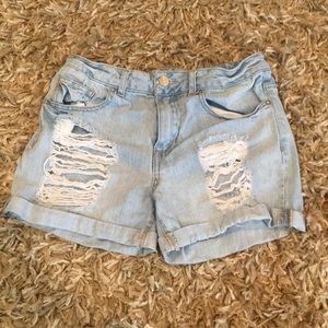 Ripped shorts from forever 21